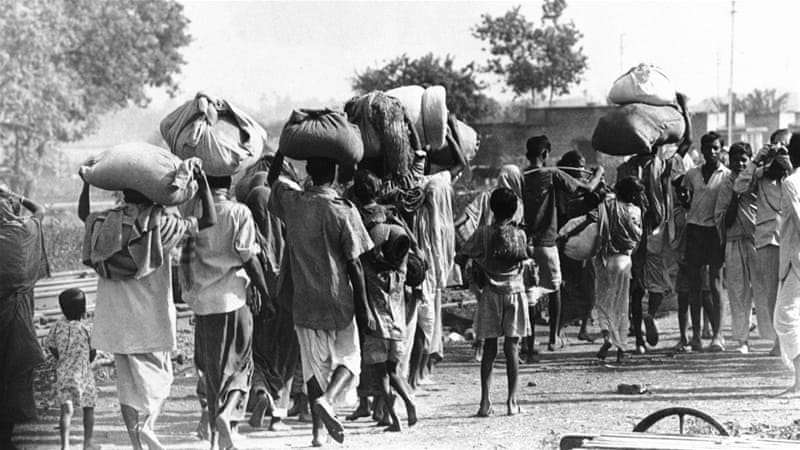Delhi is a refugee colony